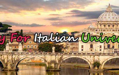 پذیرش دانشگاه ایتالیا