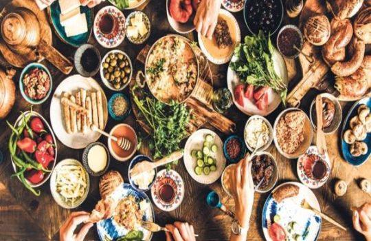 چالش غذا در ایتالیا ، چالش غذای slow food